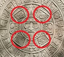 Calendario azteca 4 ciclos